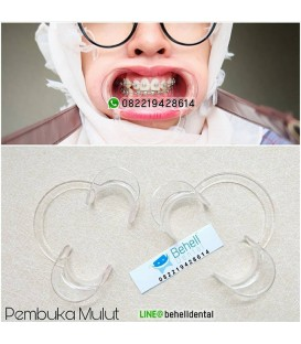 Dental Cheek Retractor Mouthgate : Penyangga Rahang : Pembuka MUlut