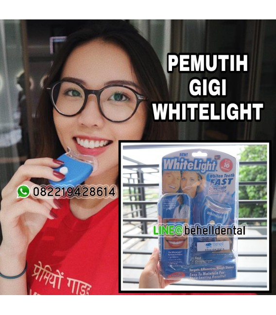 Pemutih Gigi White Light