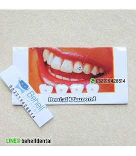 Berlian / Permata Gigi Merk Blackberry (Dental Diamond)