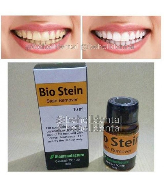 Jual Pemutih Gigi Bio Stein : Stains and Deposits Remover