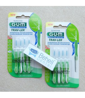 Sikat Sela Behel Gigi : Interdental brush GUM 1.1mm
