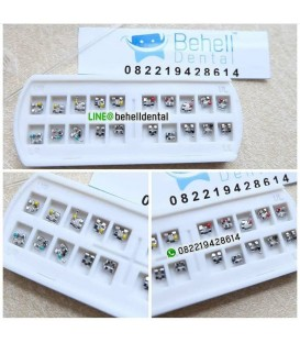 Bracket Behel FDA ( Bracket Mini Roth )