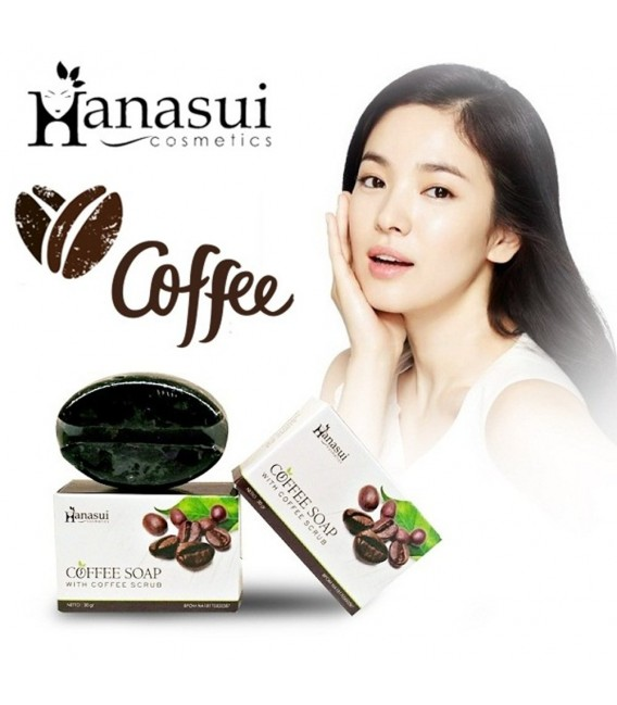 COFFEE SOAP HANASUI BPOM - SABUN KOPI HANASUI - COFFE SOAP ORIGINAL