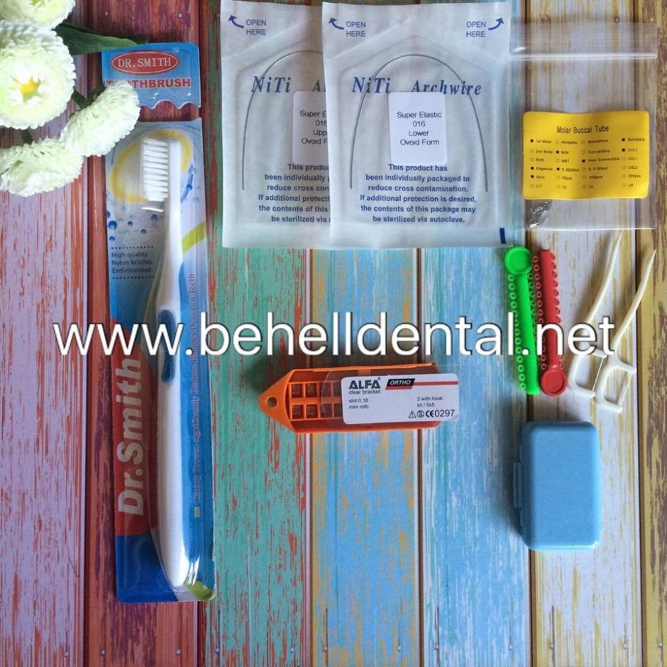 Paket Bahel Permanen Alfa Clear Transparan USA