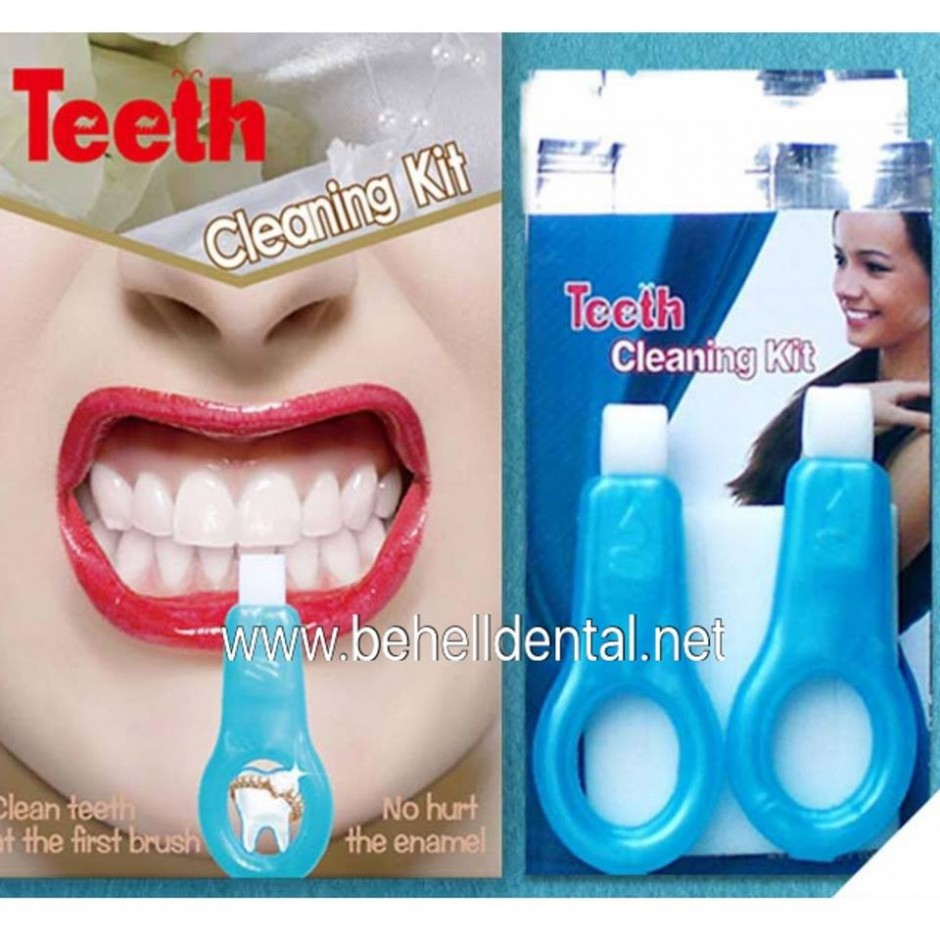 Nic Teeth Cleaning Kit Pemutih Gigi : Tato Gigi