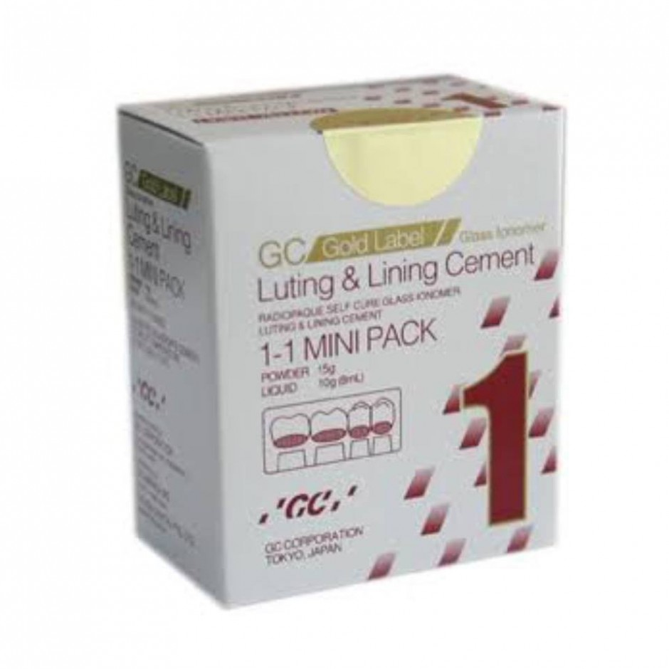 Jual Fuji I Mini Pack /GC Gold Label 1 (15gr pow /10gr Liq) GC
