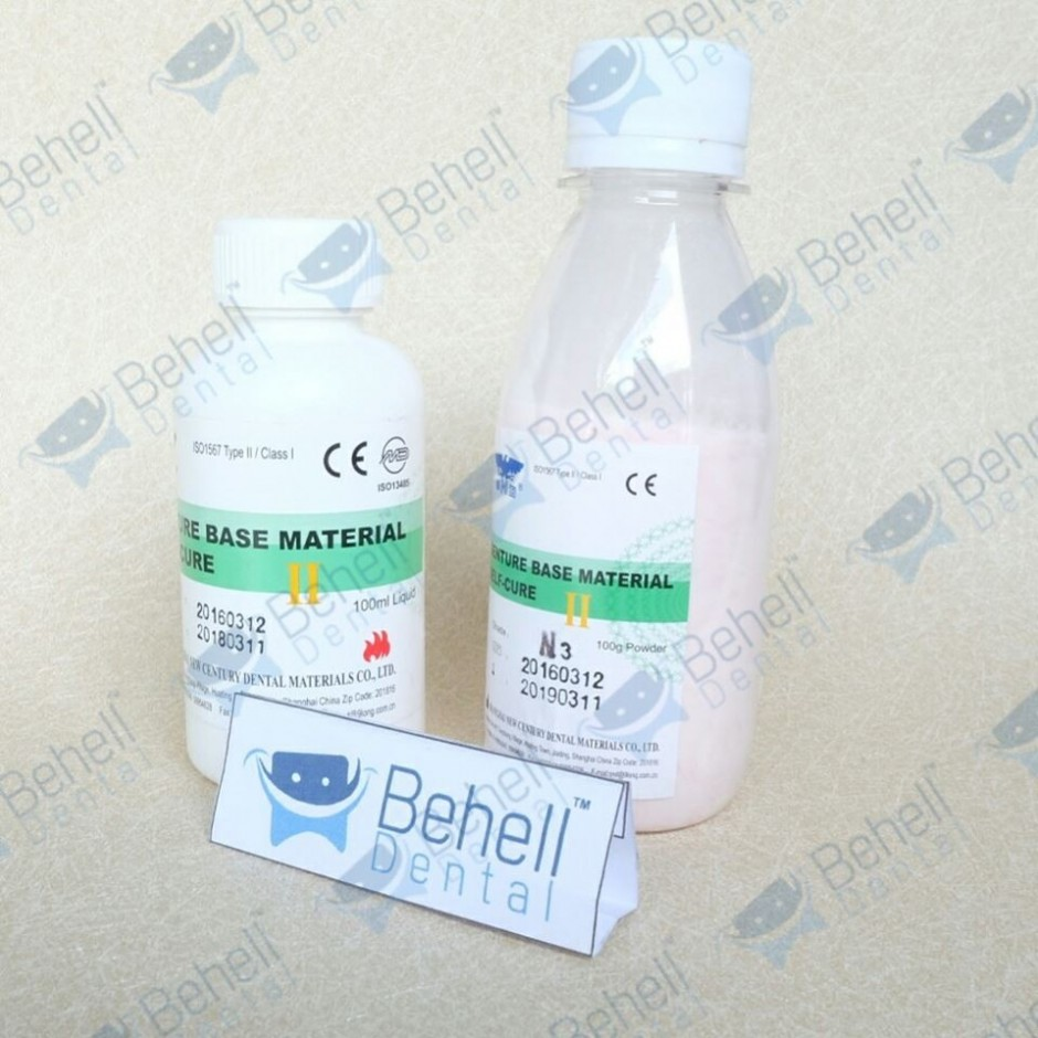 Paket Liquid Akrilik Self Cure Dan Powder Akrilik Self Cure