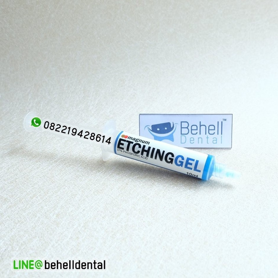 Gel Etching 10ml Magnum Original : etchan : etsa